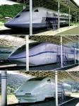 新幹線高速試験車両展示場